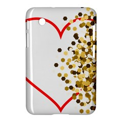 Heart Transparent Background Love Samsung Galaxy Tab 2 (7 ) P3100 Hardshell Case