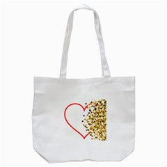 Heart Transparent Background Love Tote Bag (white)