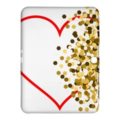 Heart Transparent Background Love Samsung Galaxy Tab 4 (10 1 ) Hardshell Case