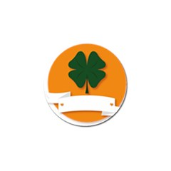 St Patricks Day Ireland Clover Golf Ball Marker (4 Pack)