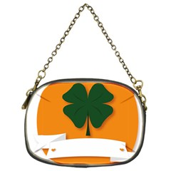 St Patricks Day Ireland Clover Chain Purses (One Side)