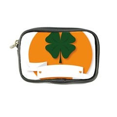 St Patricks Day Ireland Clover Coin Purse