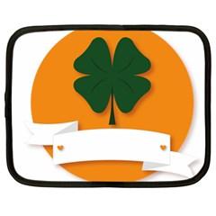 St Patricks Day Ireland Clover Netbook Case (xl)