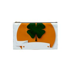 St Patricks Day Ireland Clover Cosmetic Bag (Small)
