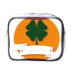 St Patricks Day Ireland Clover Mini Toiletries Bags