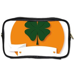 St Patricks Day Ireland Clover Toiletries Bags