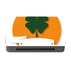 St Patricks Day Ireland Clover Memory Card Reader with CF