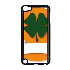 St Patricks Day Ireland Clover Apple Ipod Touch 5 Case (black)