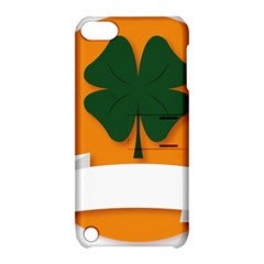 St Patricks Day Ireland Clover Apple iPod Touch 5 Hardshell Case with Stand