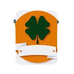 St Patricks Day Ireland Clover Apple Ipad 2/3/4 Protective Soft Cases