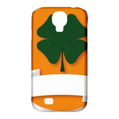 St Patricks Day Ireland Clover Samsung Galaxy S4 Classic Hardshell Case (pc+silicone)