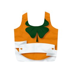 St Patricks Day Ireland Clover Full Print Recycle Bags (S)