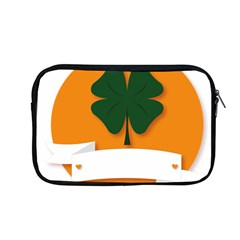 St Patricks Day Ireland Clover Apple Macbook Pro 13  Zipper Case