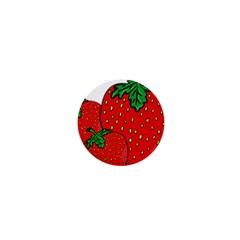 Strawberry Holidays Fragaria Vesca 1  Mini Magnets