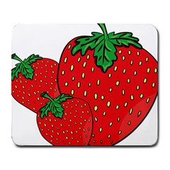 Strawberry Holidays Fragaria Vesca Large Mousepads