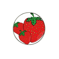 Strawberry Holidays Fragaria Vesca Hat Clip Ball Marker (4 Pack)