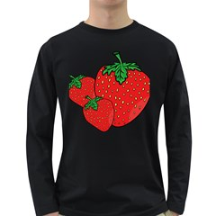 Strawberry Holidays Fragaria Vesca Long Sleeve Dark T Shirts