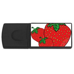 Strawberry Holidays Fragaria Vesca USB Flash Drive Rectangular (4 GB)