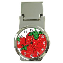 Strawberry Holidays Fragaria Vesca Money Clip Watches
