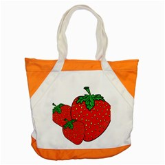 Strawberry Holidays Fragaria Vesca Accent Tote Bag
