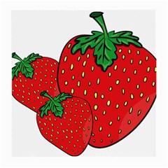 Strawberry Holidays Fragaria Vesca Medium Glasses Cloth