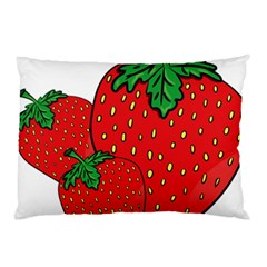Strawberry Holidays Fragaria Vesca Pillow Case