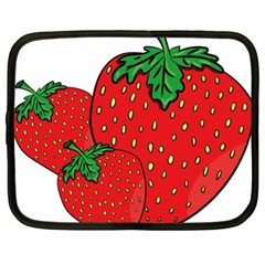 Strawberry Holidays Fragaria Vesca Netbook Case (xl)