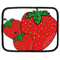 Strawberry Holidays Fragaria Vesca Netbook Case (xxl)