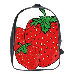 Strawberry Holidays Fragaria Vesca School Bags(Large)