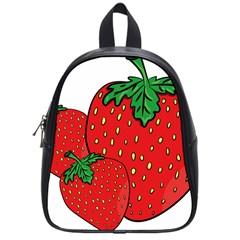 Strawberry Holidays Fragaria Vesca School Bags (small)