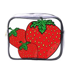 Strawberry Holidays Fragaria Vesca Mini Toiletries Bags