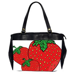 Strawberry Holidays Fragaria Vesca Office Handbags (2 Sides)