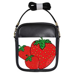 Strawberry Holidays Fragaria Vesca Girls Sling Bags