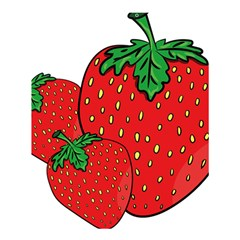 Strawberry Holidays Fragaria Vesca Shower Curtain 60  X 72  (medium)