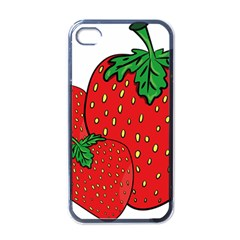 Strawberry Holidays Fragaria Vesca Apple Iphone 4 Case (black)