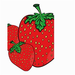 Strawberry Holidays Fragaria Vesca Small Garden Flag (two Sides)