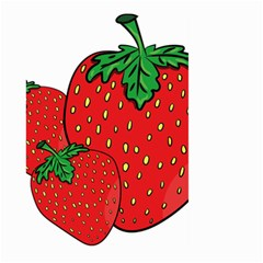 Strawberry Holidays Fragaria Vesca Large Garden Flag (two Sides)