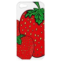 Strawberry Holidays Fragaria Vesca Apple Iphone 5 Hardshell Case