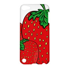 Strawberry Holidays Fragaria Vesca Apple Ipod Touch 5 Hardshell Case