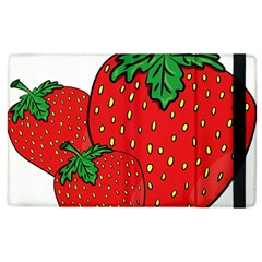 Strawberry Holidays Fragaria Vesca Apple Ipad 3/4 Flip Case