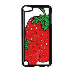 Strawberry Holidays Fragaria Vesca Apple Ipod Touch 5 Case (black)