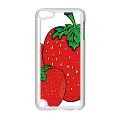 Strawberry Holidays Fragaria Vesca Apple Ipod Touch 5 Case (white)