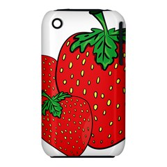 Strawberry Holidays Fragaria Vesca Iphone 3s/3gs