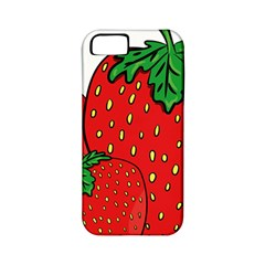 Strawberry Holidays Fragaria Vesca Apple Iphone 5 Classic Hardshell Case (pc+silicone)