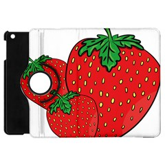 Strawberry Holidays Fragaria Vesca Apple Ipad Mini Flip 360 Case