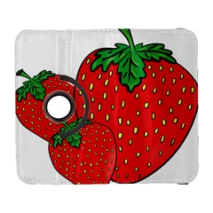 Strawberry Holidays Fragaria Vesca Galaxy S3 (flip/folio)