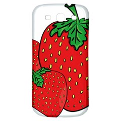 Strawberry Holidays Fragaria Vesca Samsung Galaxy S3 S Iii Classic Hardshell Back Case