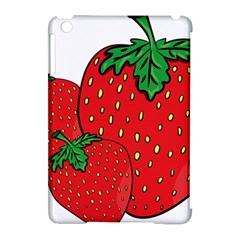 Strawberry Holidays Fragaria Vesca Apple Ipad Mini Hardshell Case (compatible With Smart Cover)