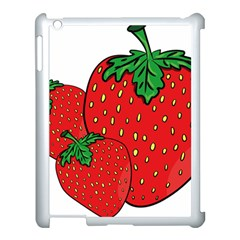 Strawberry Holidays Fragaria Vesca Apple Ipad 3/4 Case (white)