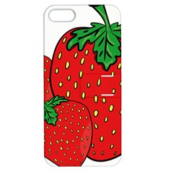 Strawberry Holidays Fragaria Vesca Apple Iphone 5 Hardshell Case With Stand
